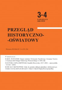 Przegląd Historyczno-Oświatowy nr 3-4 2016