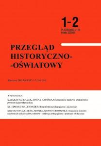 Przegląd Historyczno-Oświatowy 1-2 2019